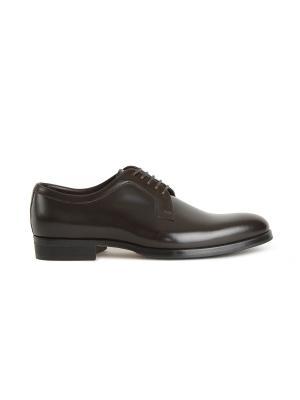Туфли POLLINI. Цвет: темно-коричневый