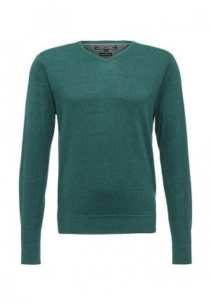 Пуловер Tommy Hilfiger. Цвет: зеленый