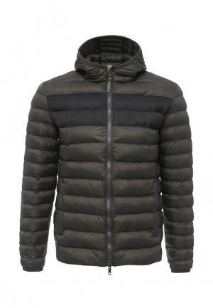 Куртка утепленная Strellson. Цвет: хаки