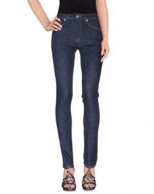 Джинсовые брюки NN07. Цвет: синий