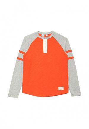Лонгслив Gap. Цвет: оранжевый