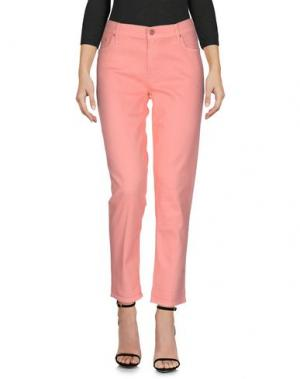 Джинсовые брюки MOTHER. Цвет: розовый