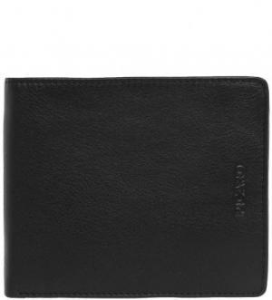 Черное портмоне из натуральной кожи Picard. Цвет: черный