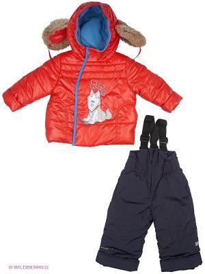 Комплект одежды BOOM. Цвет: красный