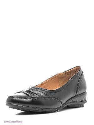 Туфли VIGOROUS. Цвет: черный