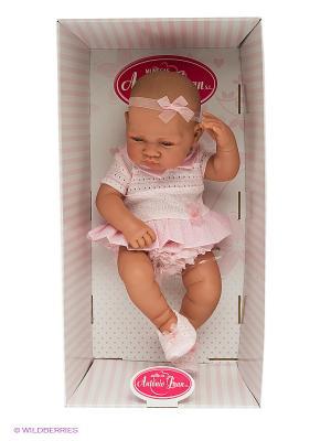 Кукла младенец Эми Antonio Juan. Цвет: бледно-розовый