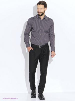 Рубашка мужская LIVANSO. Цвет: коричневый