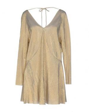 Короткое платье URBAN BLISS. Цвет: золотистый