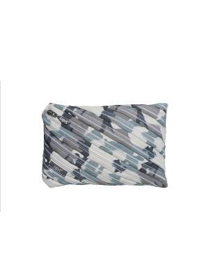 Пенал-сумочка CAMO JUMBO POUCH, цвет серый камуфляж ZIPIT. Цвет: серый