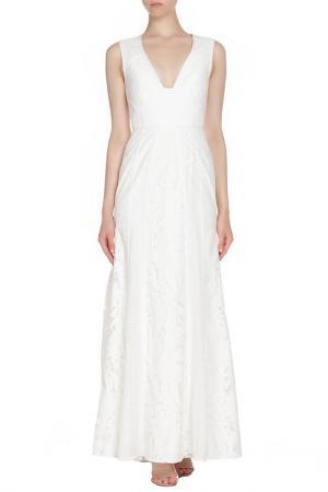 Платье BCBG Max Azria. Цвет: белый