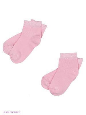 Носки, 2 пары Хох. Цвет: розовый