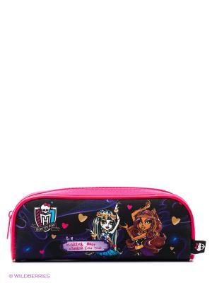 Пенал Monster High Centrum. Цвет: розовый