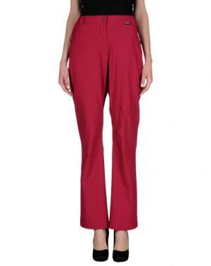 Повседневные брюки SALEWA. Цвет: пурпурный