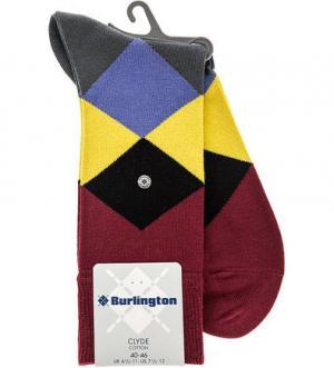 Высокие носки из хлопка Burlington. Цвет: мультиколор