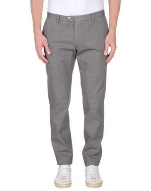 Повседневные брюки MAESTRAMI. Цвет: серый