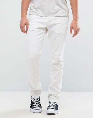 AllSaints Белые джинсы. Цвет: белый