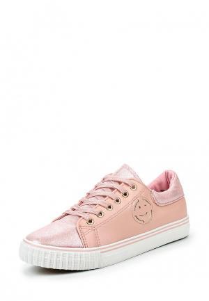 Кеды Mixfeel. Цвет: розовый