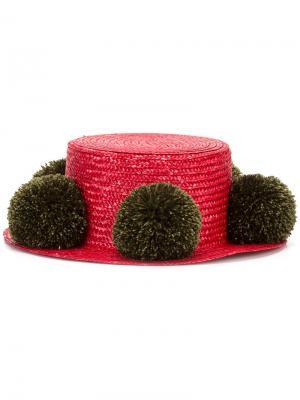 Шляпа Jupiter Eshvi. Цвет: красный