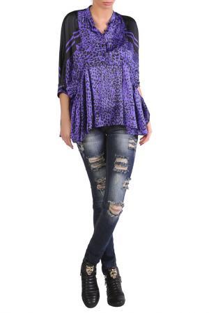 Рубашка JUNONA. Цвет: purple