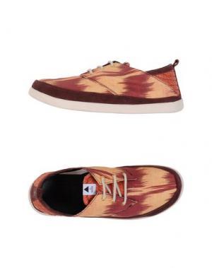 Обувь на шнурках VOLTA. Цвет: песочный