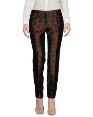 Повседневные брюки NEW YORK INDUSTRIE. Цвет: коричневый