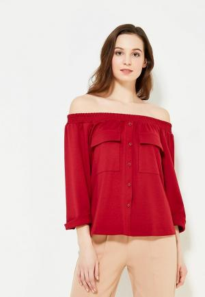 Блуза Ruxara. Цвет: бордовый