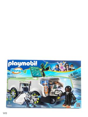 Супер4: Техно Хамелеон с Джином Playmobil. Цвет: черный, светло-серый