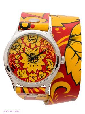 Часы DenisMart. Цвет: желтый, красный
