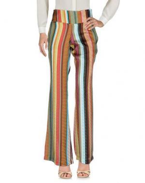 Повседневные брюки CAPSULE. Цвет: коричневый