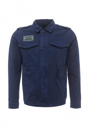 Куртка Just Key. Цвет: синий