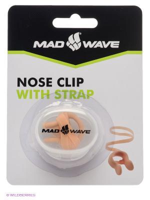 Носовой зажим Mad Wave. Цвет: бежевый