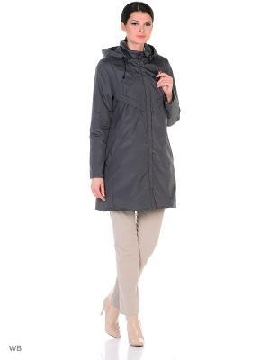 Куртка Maritta. Цвет: сливовый