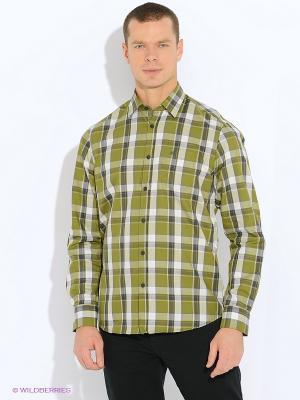 Сорочка LERROS. Цвет: зеленый