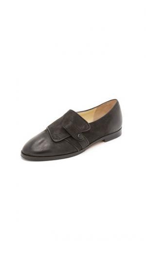Обувь на плоской подошве Carla Sarah Flint. Цвет: голубой