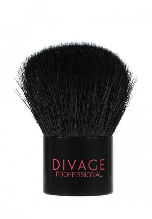 Кисть для лица Divage. Цвет: черный