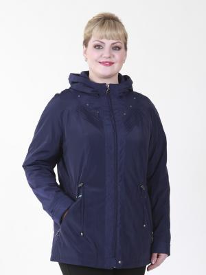 Куртка Мишель VIKO. Цвет: темно-синий