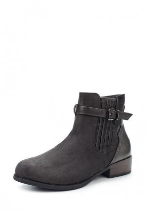 Ботинки Benini. Цвет: серый