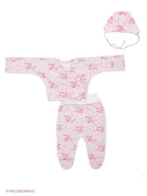 Комплект стерильного белья для новорожденного ФЭСТ. Цвет: розовый