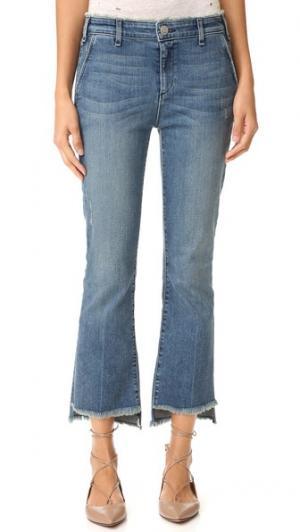 Укороченные узкие джинсы Malone McGuire Denim. Цвет: wonderland