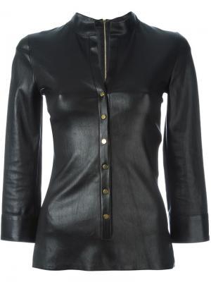 Блузка Giorgia Jitrois. Цвет: чёрный