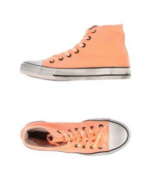 Высокие кеды и кроссовки 2STAR. Цвет: оранжевый