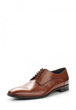 Туфли Boss Hugo. Цвет: коричневый