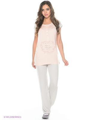 Комплект одежды HAYS. Цвет: розовый, серый