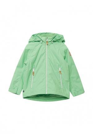 Куртка утепленная Reima. Цвет: зеленый