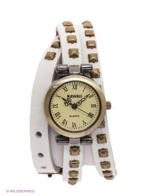 Часы Kawaii Factory. Цвет: белый