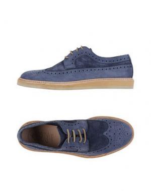 Обувь на шнурках CORVARI. Цвет: грифельно-синий