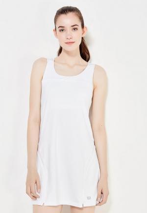 Платье Wilson. Цвет: белый