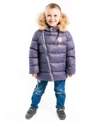 Куртка Стас Аксарт. Цвет: темно-фиолетовый