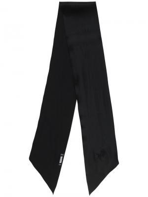 Plain scarf Rockins. Цвет: чёрный