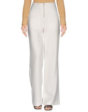 Повседневные брюки 2ND ONE. Цвет: белый